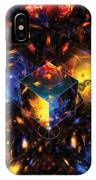 Geometry Amid Chaos Lights IPhone Case