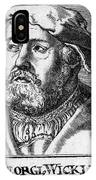 Georg Witzel (1501-1573) IPhone Case