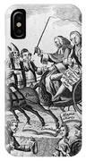 George IIi Cartoon, 1775 IPhone Case