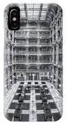 George Peabody Library II IPhone Case