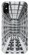 George Peabody Library Iv IPhone Case