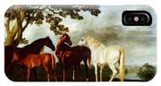 Horses IPhone X Case