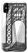 George Washington Bridge Nj Tower IPhone Case