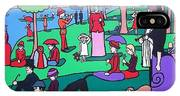George Seurat- A Cyclops Sunday Afternoon On The Island Of La Grande Jatte IPhone Case