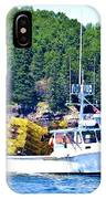 Georgia Madison Lobster Boat IPhone Case