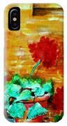 Geraniums   IPhone Case