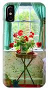 Geraniums In The Bedroom IPhone Case