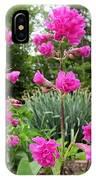 German Catchfly Pink IPhone Case