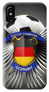 German Soccer Champions IPhone Case