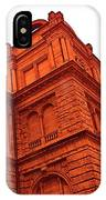 German Train Station In Red IPhone Case
