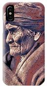 Geronimo  Photographed By Edward S. Curtis  1903-2013 IPhone Case