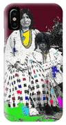 Geronimo's Wife Ta-ayz-slath And Child Unknown Date Collage 2012 IPhone Case