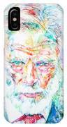 Gerry Mulligan - Portrait IPhone Case