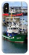 Getaria Fishing Fleet IPhone Case