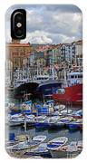 Getaria In Basque Country Spain IPhone Case