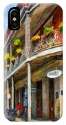 Getting Around The French Quarter - Watercolor IPhone Case