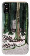 Ghost Stories Forest Graveyard By Jrr IPhone Case