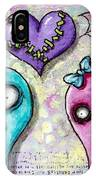 Ghoulfriends IPhone Case