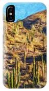 Giant Cordon Cactus IPhone Case