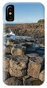 Giant S Causeway, Antrim Coast IPhone Case