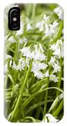 Giant Snowdrops IPhone X Case
