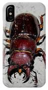 Giant Stag Beetle IPhone Case
