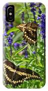 Giant Swallowtail Butterfly Couple IPhone Case