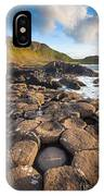 Giant's Causeway Circle Of Stones IPhone Case