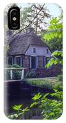 Giethoorn Thatch IPhone Case