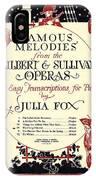 Gilbert And Sullivan Operas IPhone Case