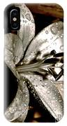 Gilded Lilies 3 IPhone Case