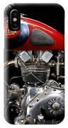 Gilera Saturno Engine 2 IPhone Case