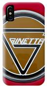 Ginetta Name Badge IPhone Case