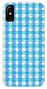 Gingham Glyphs IPhone Case