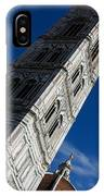 Giotto Fantastic Campanile - Florence Cathedral - Piazza Del Duomo - Italy IPhone Case