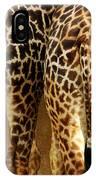 Giraffe Butts 1 IPhone Case
