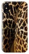 Giraffe Butts 2 IPhone Case