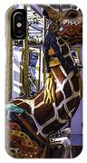 Giraffe Carousel Ride IPhone Case