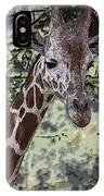 Giraffe IPhone Case