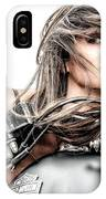 Girl And Harley IPhone Case