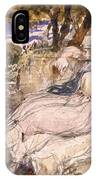 Girl Dreaming IPhone Case
