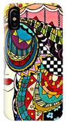Girl In The Wind IPhone Case
