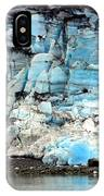 Glacier And Sediments IPhone Case