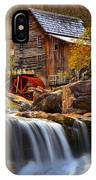 Glade Creek Cascades IPhone Case
