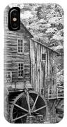 Glade Creek Crist Mill IPhone Case