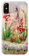 Gladioli IPhone X Case