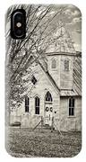 Glady Presbyterian Sepia IPhone Case