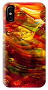 Glass Macro - Burning Embers IPhone Case