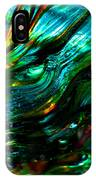 Glass Macro - Greens And Blues IPhone Case