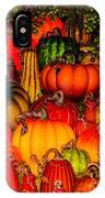 Glass Pumpkins IPhone Case